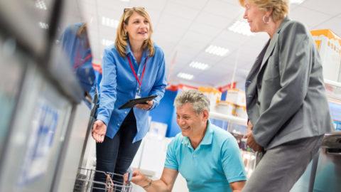 Personale di vendita centrale per sviluppare il business retail