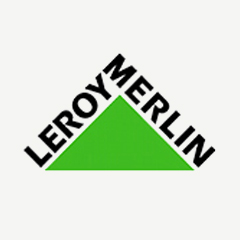 Logo Leroy Merlin - Partner Cofidis Retail
